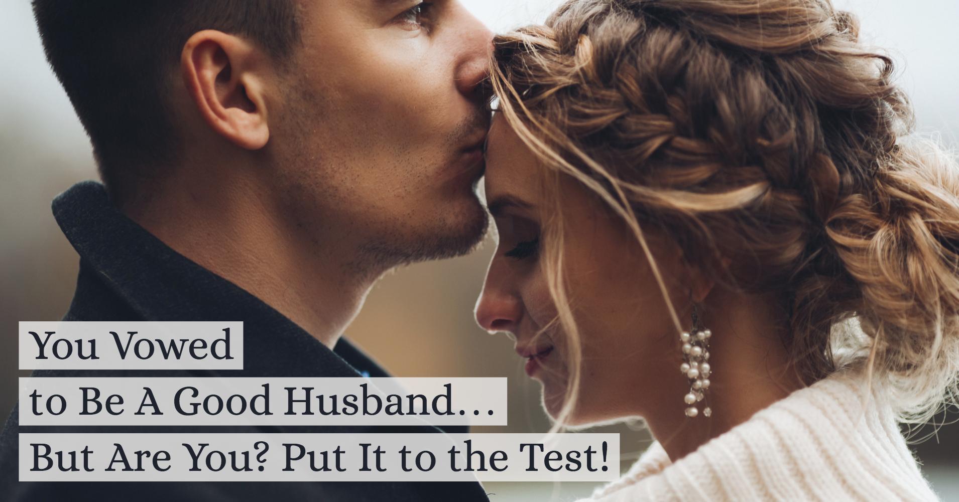 Am I A Good Husband? - Quiz - Quizony com