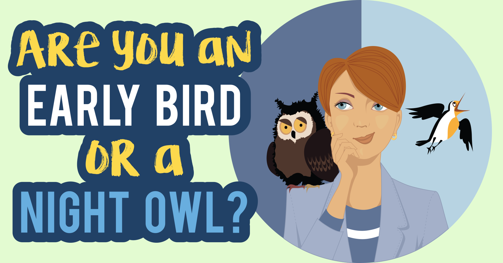 Are You An Early Bird Or A Night Owl?