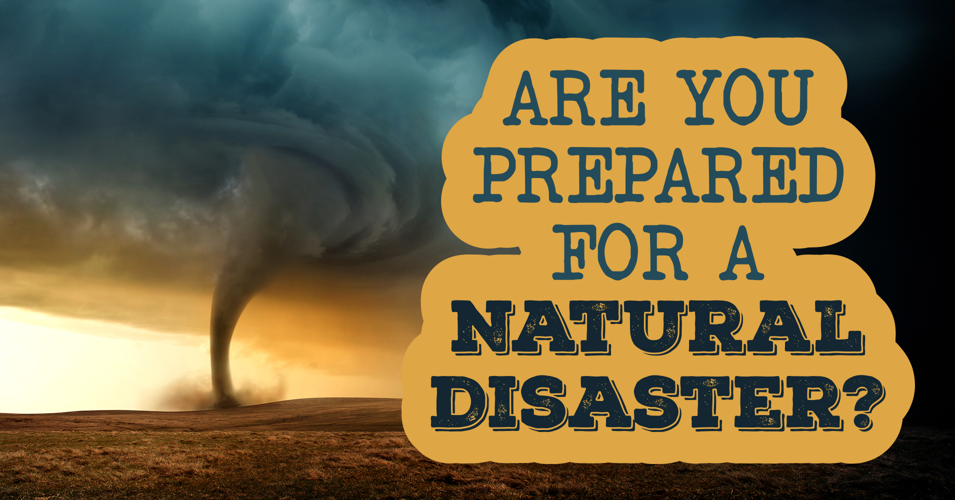 Are You Prepared For A Natural Disaster? - Quiz - Quizony.com
