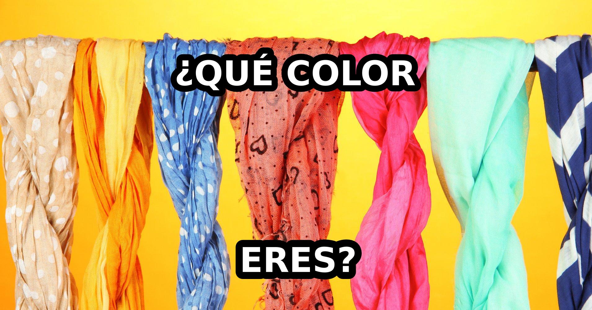 Qué Color Eres? - Test - Quizony.com