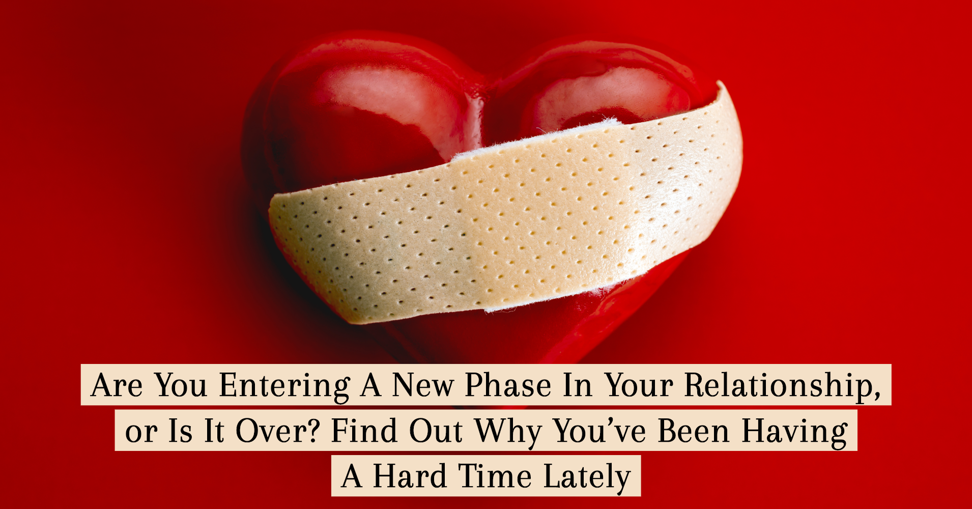 when do you know that your relationship is over