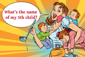 What is the name of the 5th child?