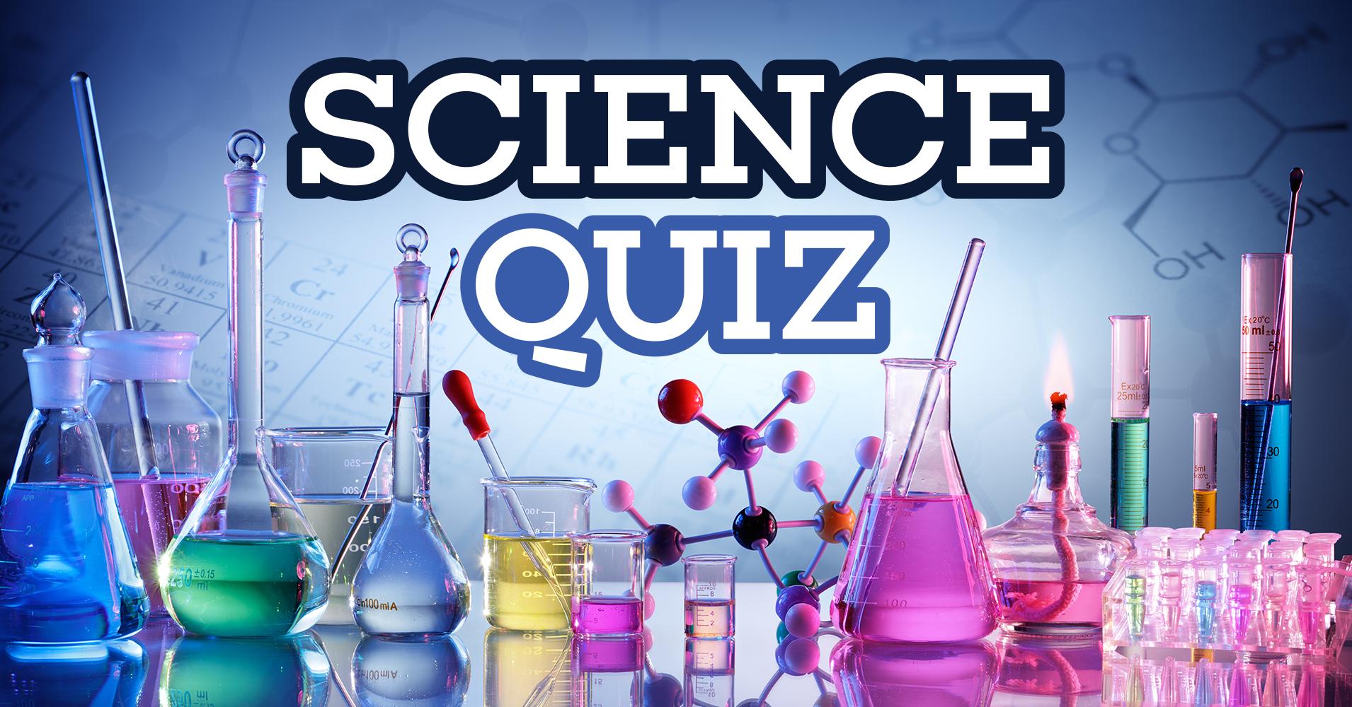 Fields of science study quiz