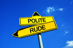 Are You Polite Or Rude?