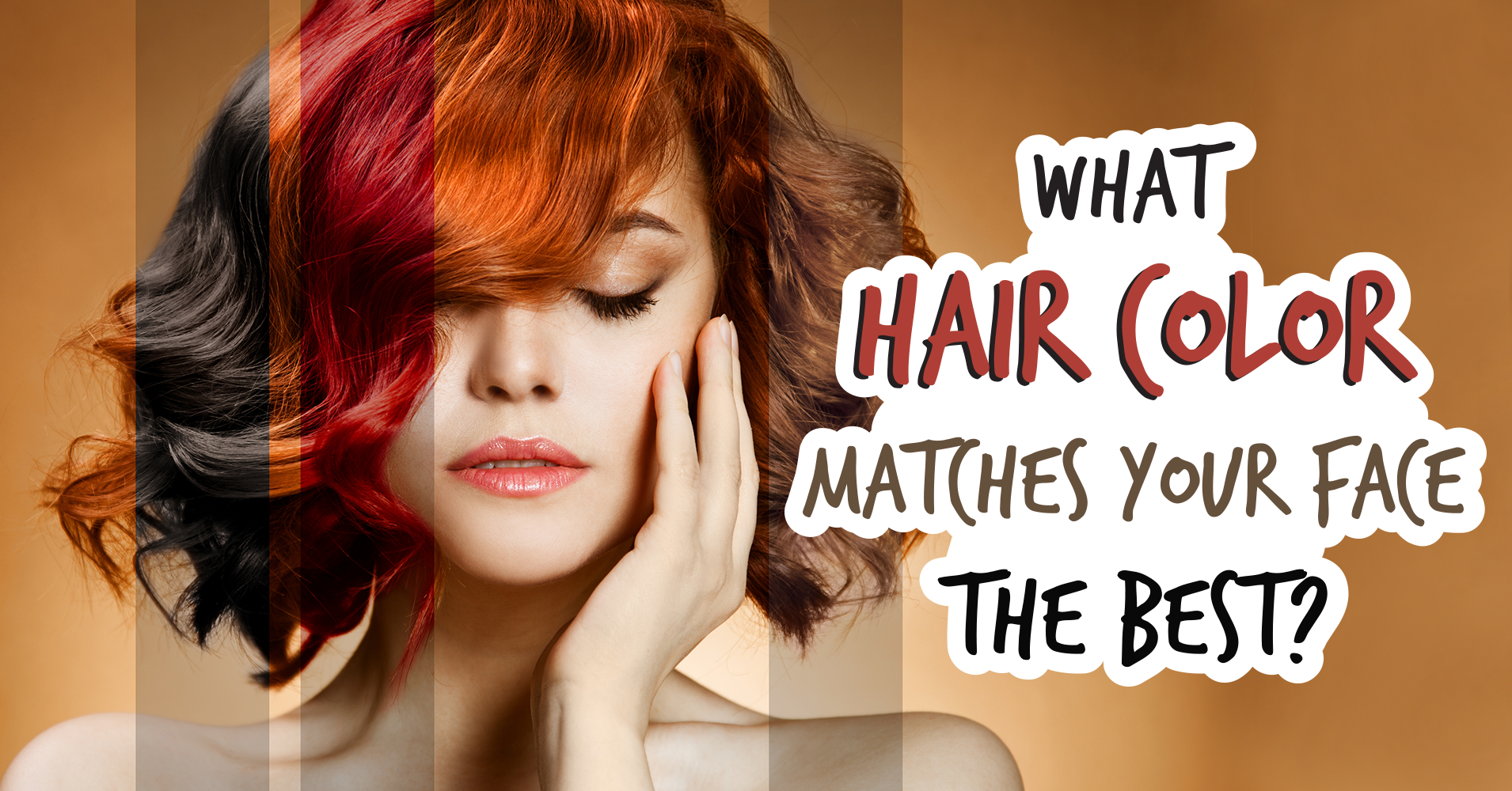 What Hair Color Matches Your Face The Best Quiz Quizony