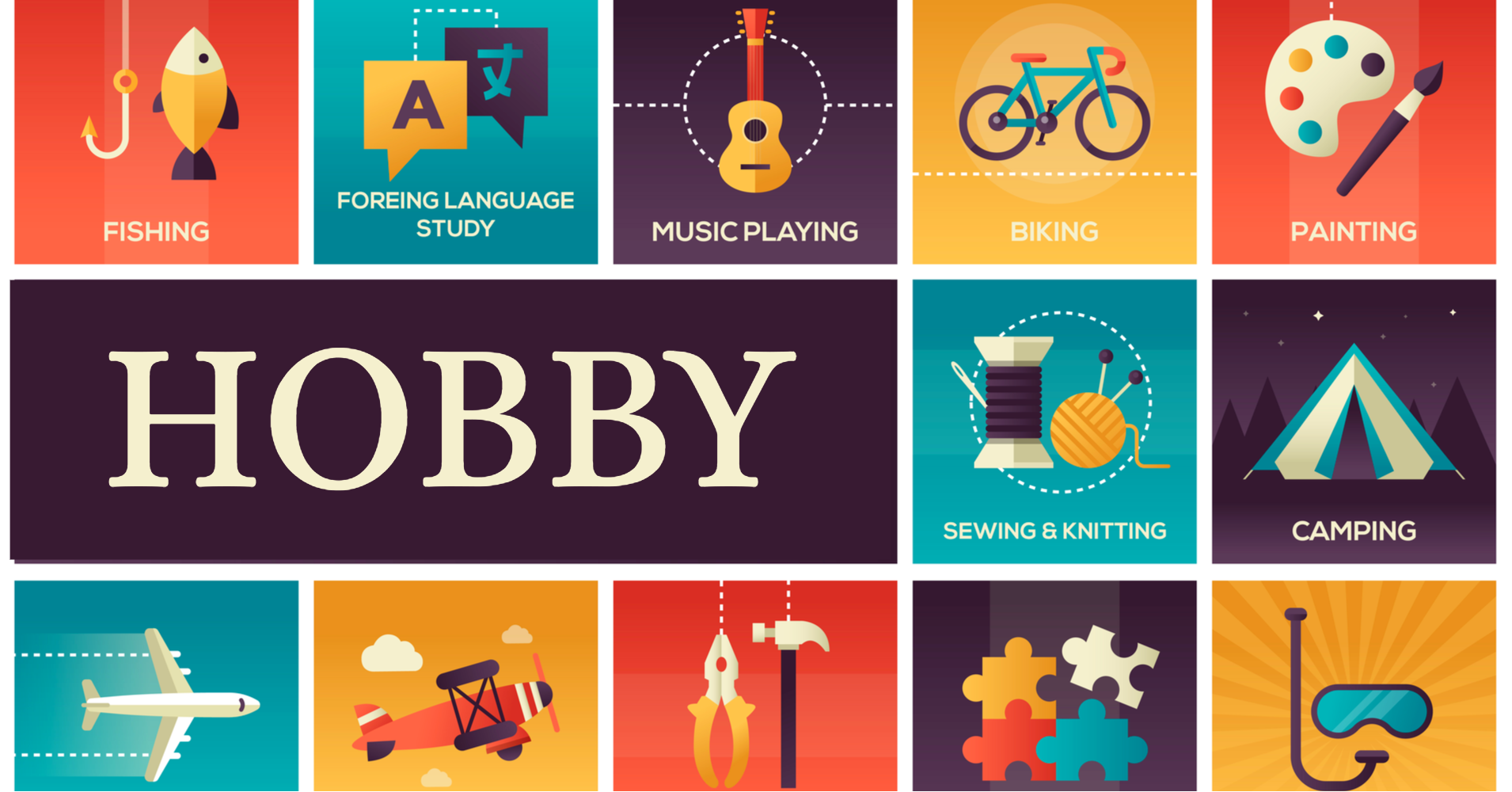 How to keep up with your hobby - HappyVation