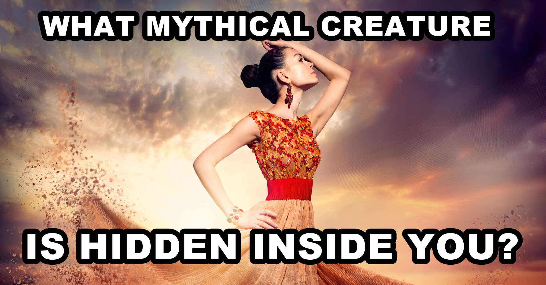 what mythical creature is hidden inside you  - quiz