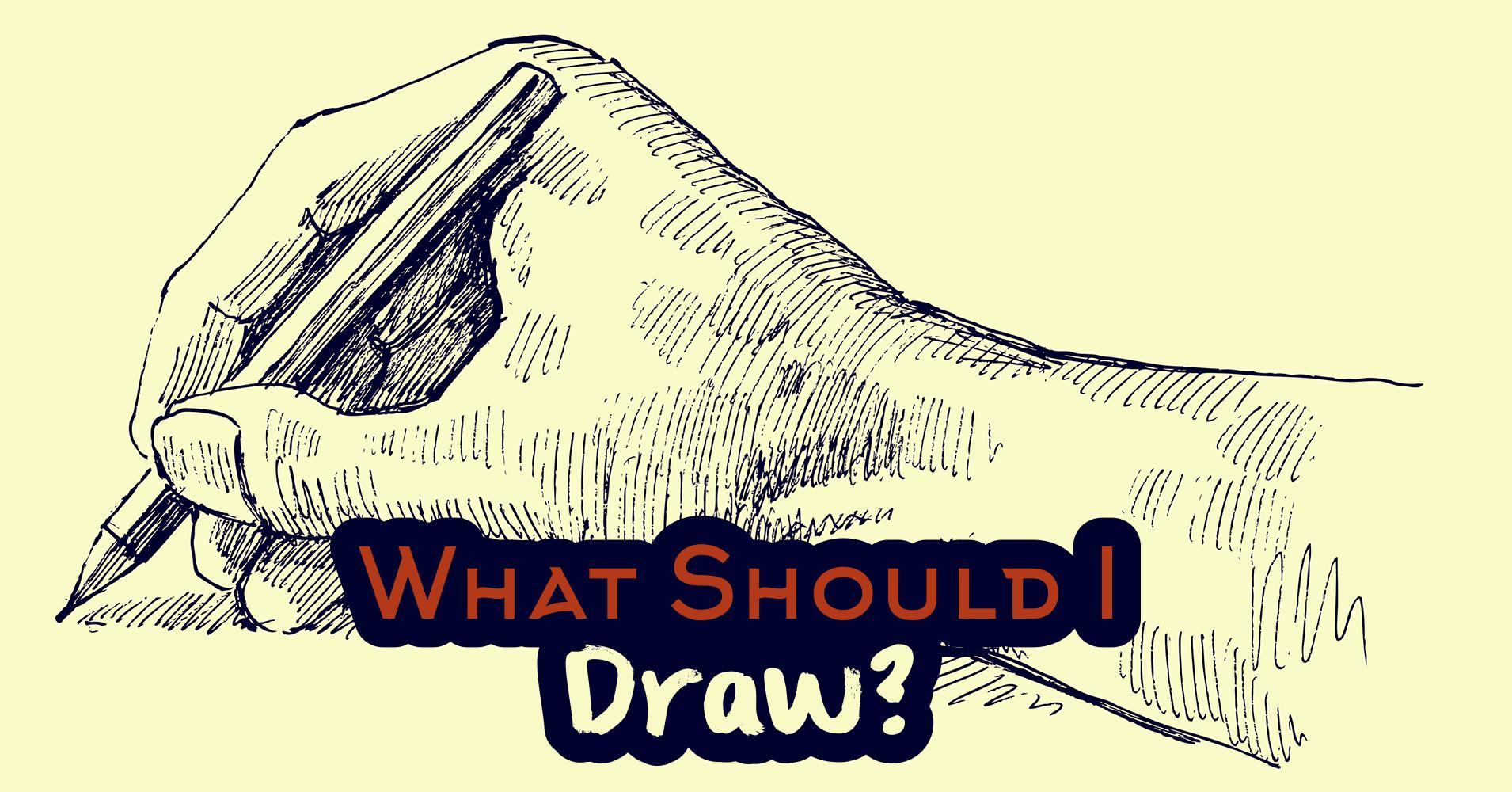 Scribble Drawing Quiz : What should i draw quiz quizony