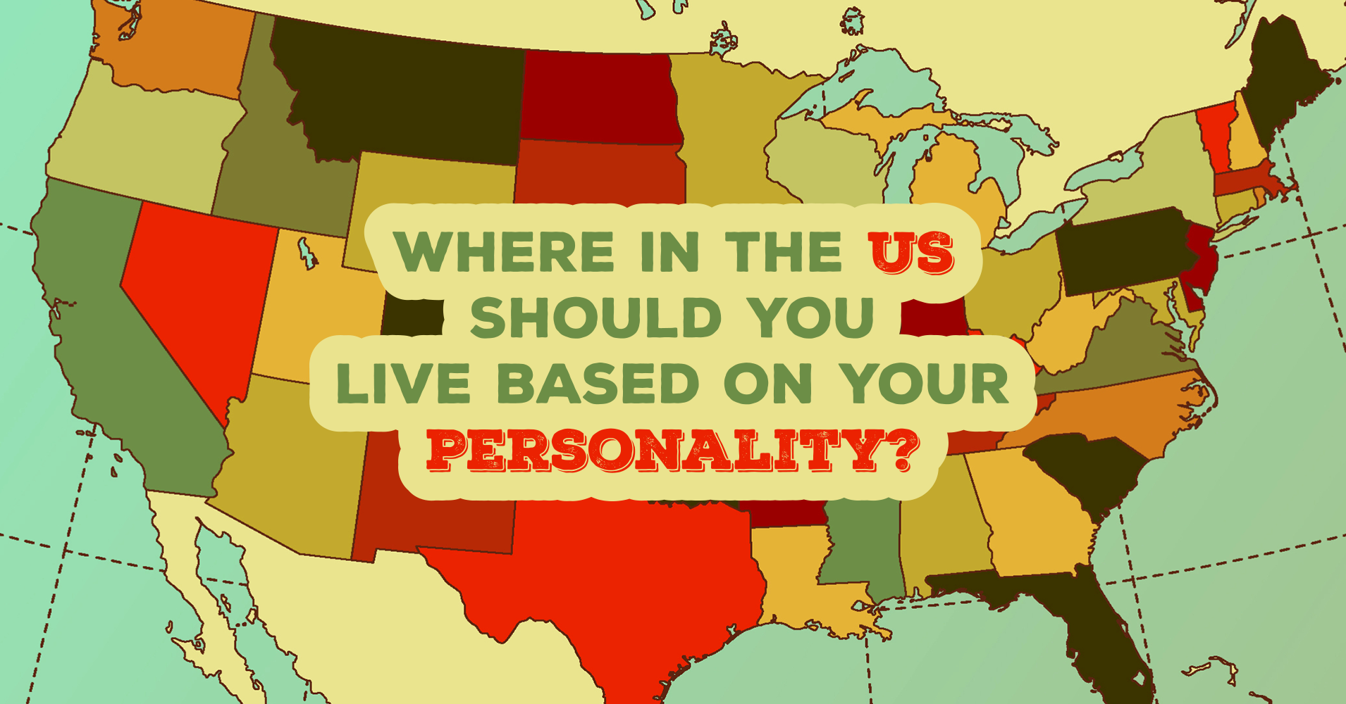 where in the us should you live based on your personality quiz quizony com