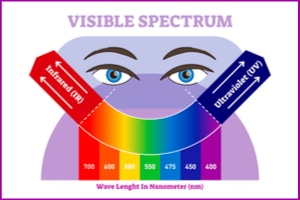 Where On The Spectrum Of Light Is Your Person...