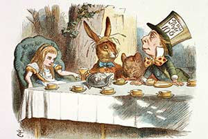 Which 'Alice in Wonderland' Characte...