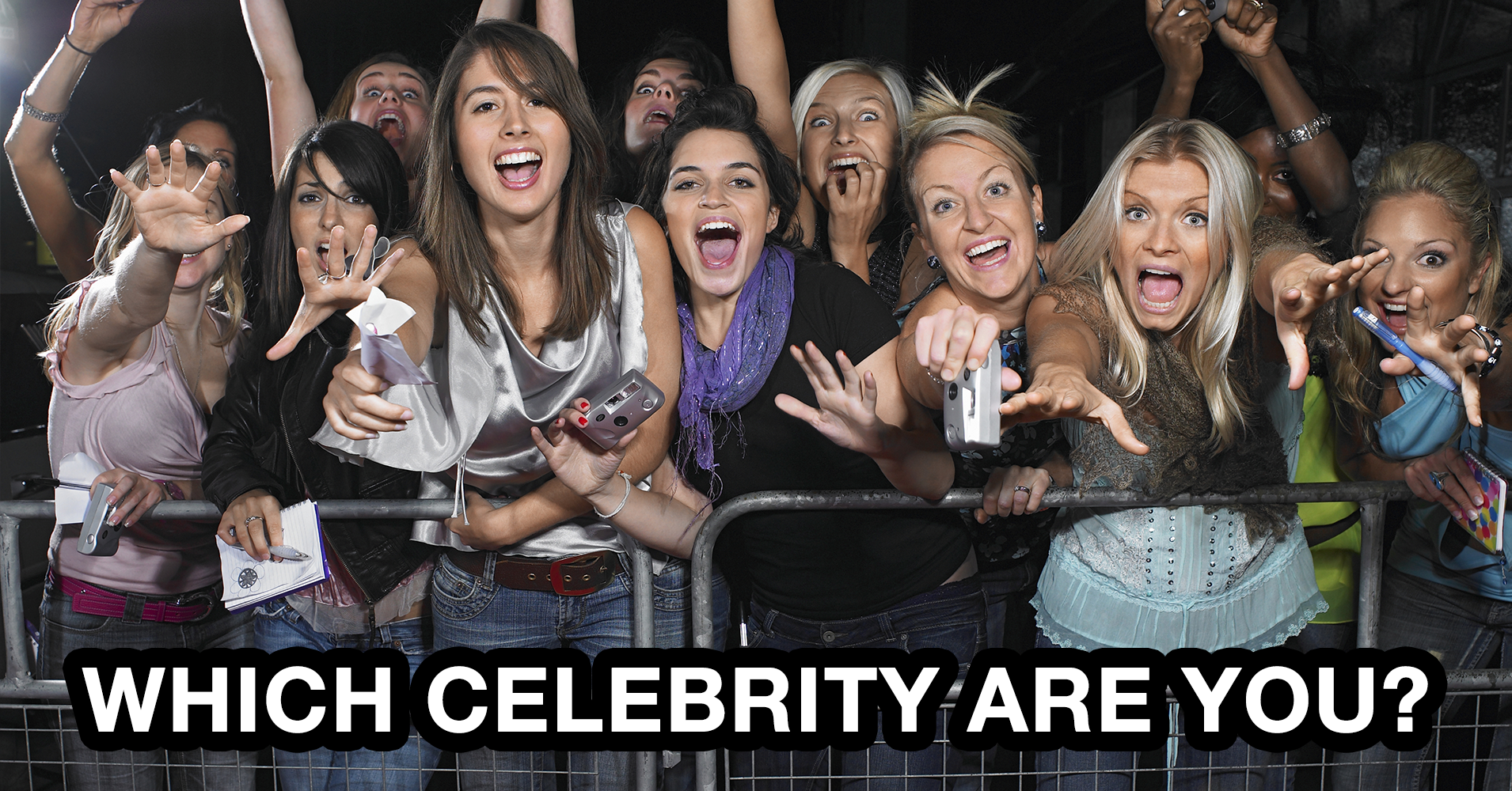 Which Celebrity Are You? - Quiz - Quizony com