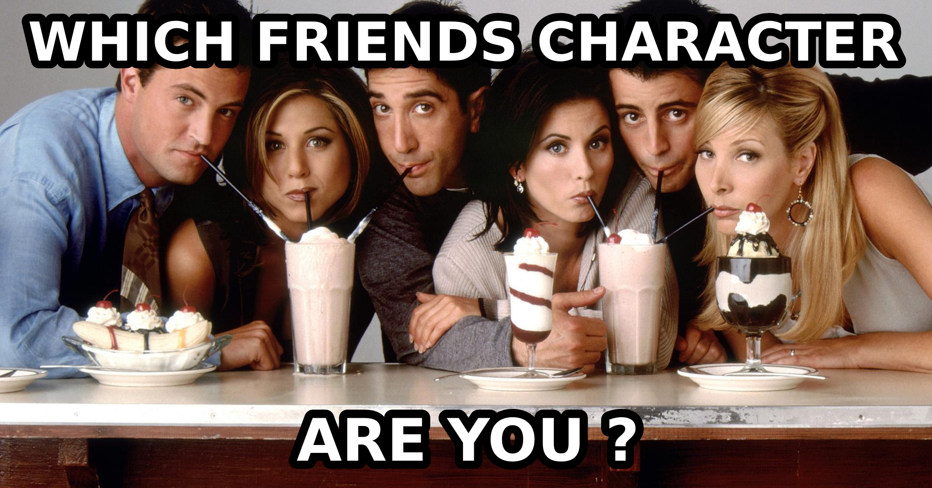 how did the characters from friends meet