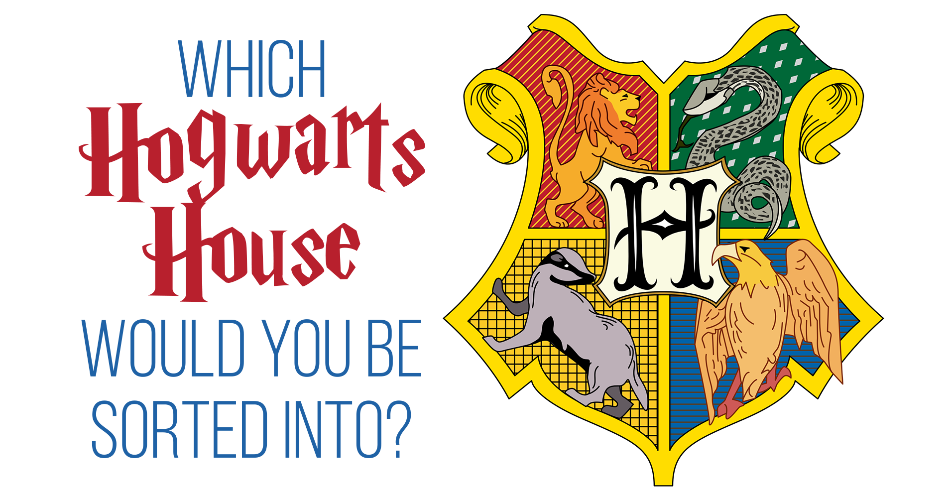 which hogwarts house would you be sorted into? - quiz - quizony